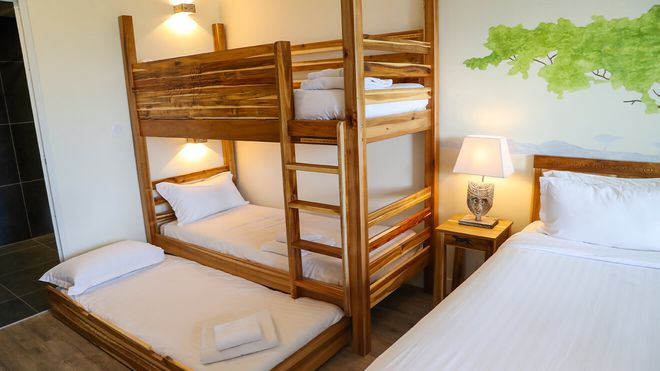 Les Hauts de Beauval - chambre confort familiale - Les hôtels de Beauval