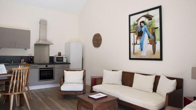 Les Hameaux de Beauval - appartement 1 chambre - Les hôtels de Beauval