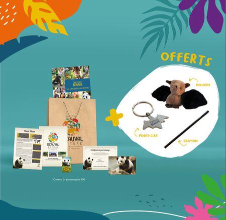 Offre parrainage - Association Beauval Nature - ZooParc de Beauval