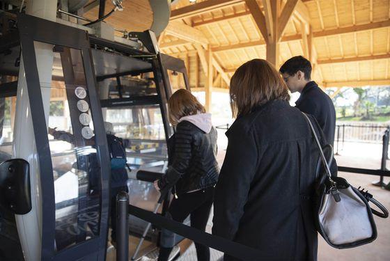 Téléphérique Nuage de Beauval - Accès aux personnes en situation de handicap ou à mobilité réduite - ZooParc de Beauval