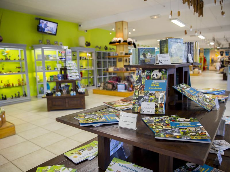 Acheter un souvenir des animaux de Beauval - Boutique du ZooParc de Beauval