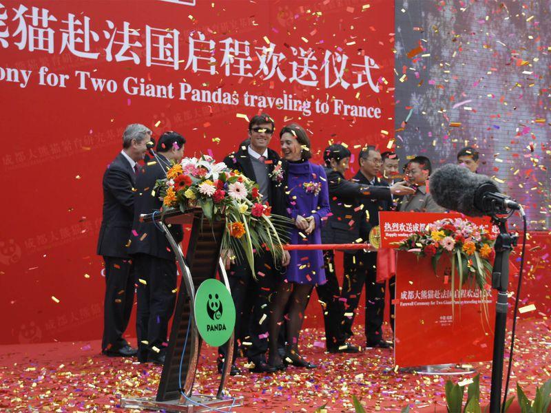 Départ des pandas de Chine - Saga pandas du ZooParc de Beauval