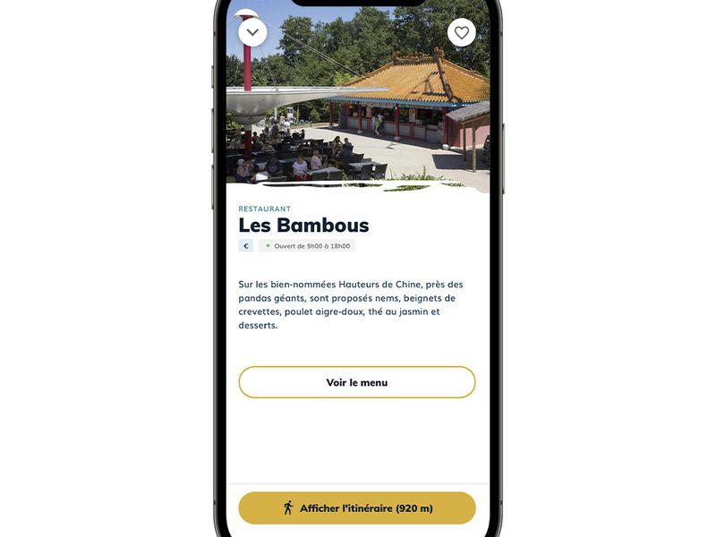 Restaurants - Application mobile du ZooParc de Beauval