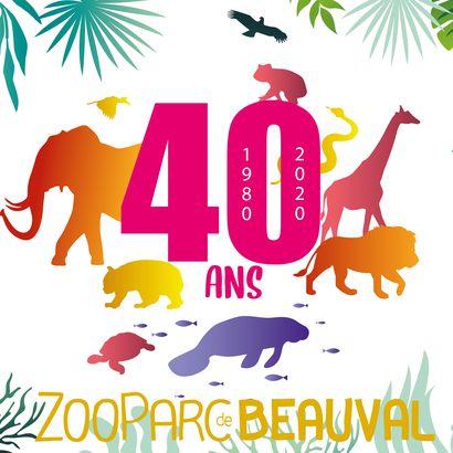 Anniversaire du ZooParc de Beauval - 40 ans