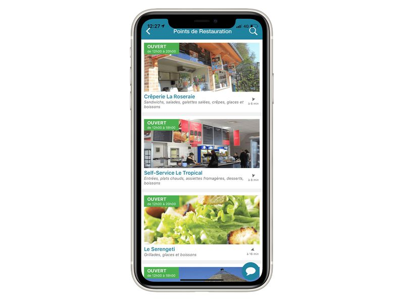 Les restaurants - Application mobile du ZooParc de Beauval