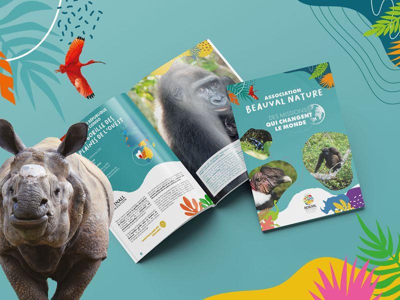 Dossier de présentation - Association Beauval Nature - ZooParc de Beauval