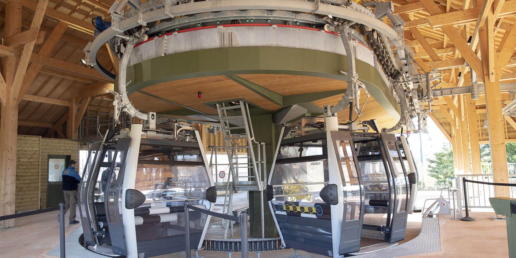 Télécabine du ZooParc de Beauval - Un mode de transport respectueux de l'environnement - Nuage de Beauval