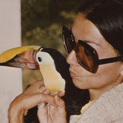 Françoise Delord et Fredo le toucan - ZooParc de Beauval
