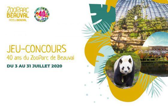 Un séjour à gagner pour les 40 ans du ZooParc de Beauval !