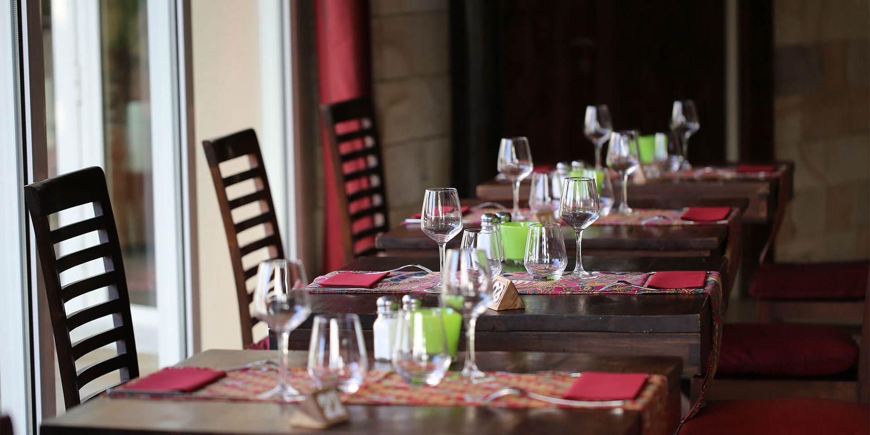 Restaurant Le Tegallalang - manger à Beauval - Les hôtels de Beauval