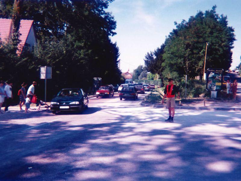 Rodolphe Delord faisant la circulation - L'histoire du ZooParc de Beauval