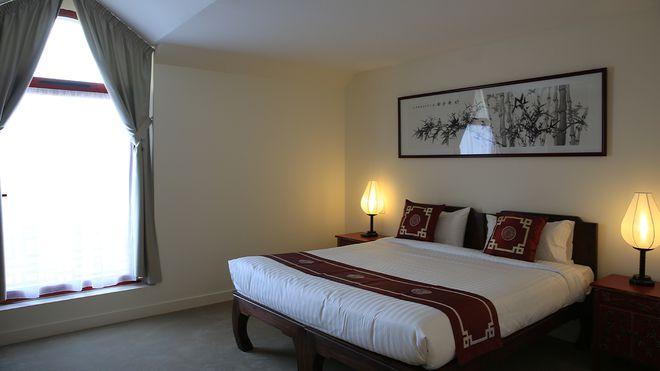 Les Pagodes de Beauval - chambre standard familiale - Les hôtels de Beauval