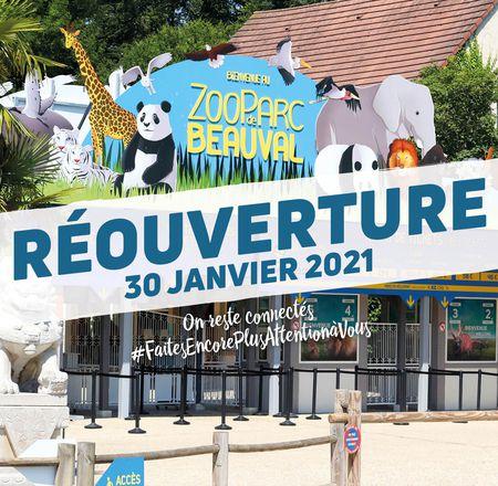 Réouverture  - ZooParc de Beauval