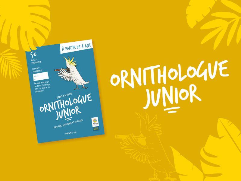 Carnet Ornithologue Junior - Activités du ZooParc de Beauval