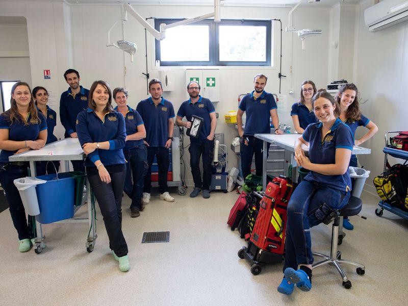 Clinique vétérinaire et centre de recherche - Équipe vétérinaire - ZooParc de Beauval