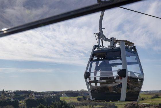 Télécabine du ZooParc de Beauval - Une étendue spectaculaire - Nuage de Beauval