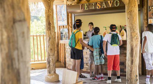 Le Tsavo - Restaurant - ZooParc de Beauval