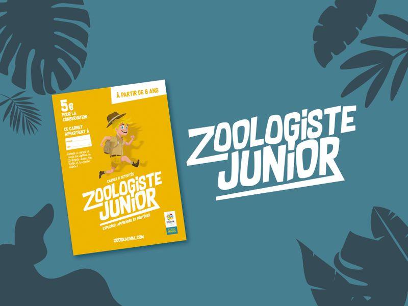 Carnet Zoologiste Junior - Activités du ZooParc de Beauval