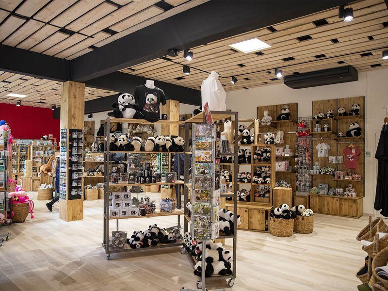 Acheter un souvenir panda - Boutique du ZooParc de Beauval