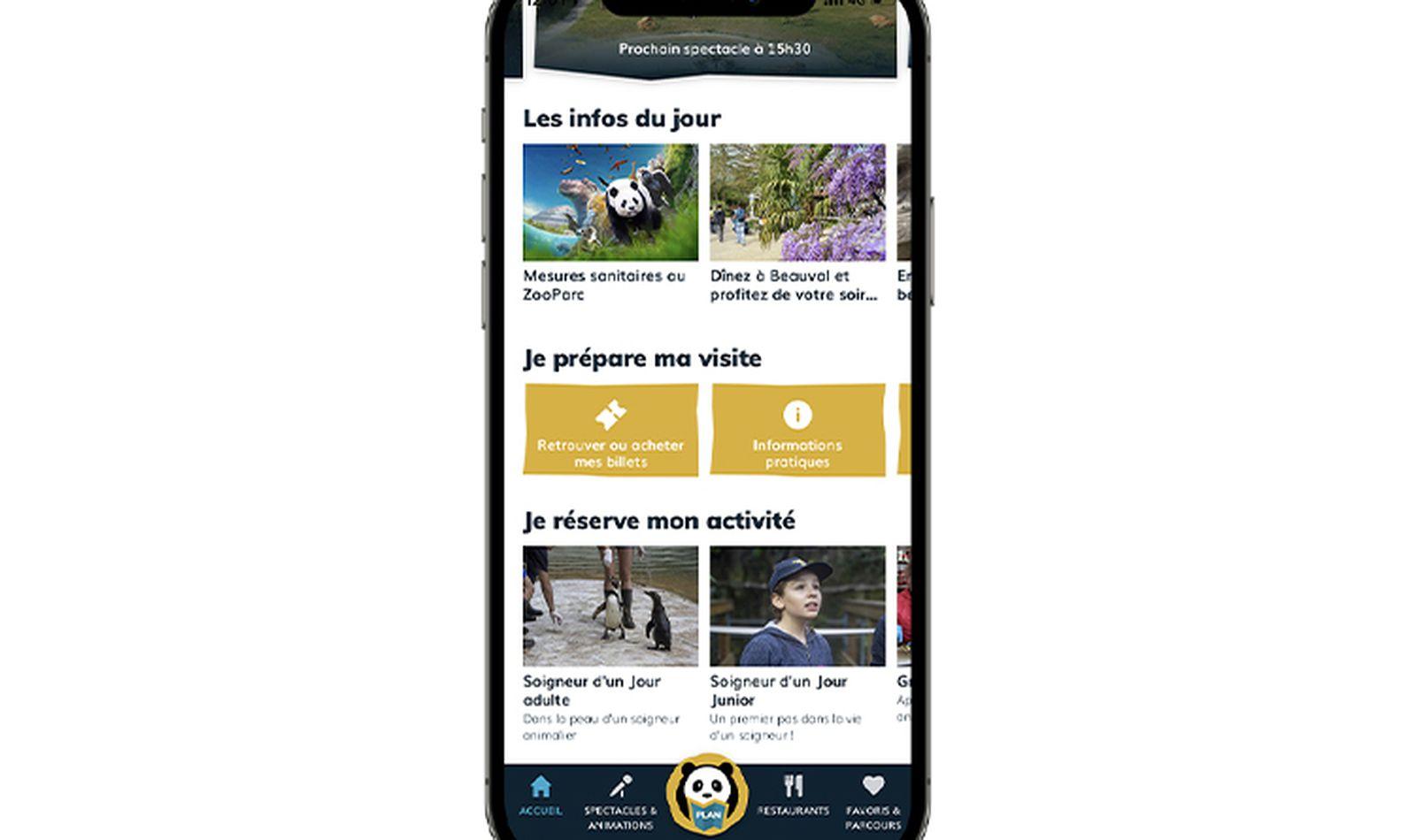 Appli Beauval - Téléchargez l'application mobile du ZooParc de Beauval