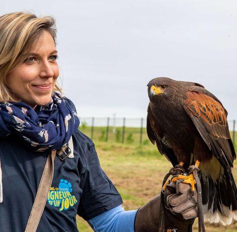 Activité Soigneur d'un Jour - Initiation à la fauconnerie - ZooParc de Beauval