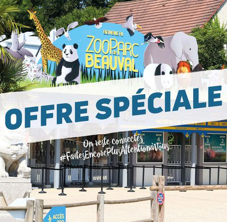 Offre spéciale billetterie réouverture - ZooParc de Beauval