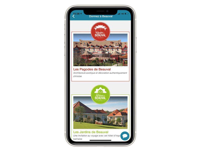 Les Hôtels thématiques de Beauval - Application mobile du ZooParc de Beauval