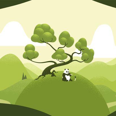 Développement durable - Panda géant - ZooParc de Beauval