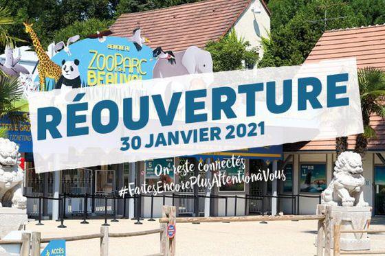 Le ZooParc et les hôtels de Beauval rouvriront leurs portes le samedi 30 janvier 2021
